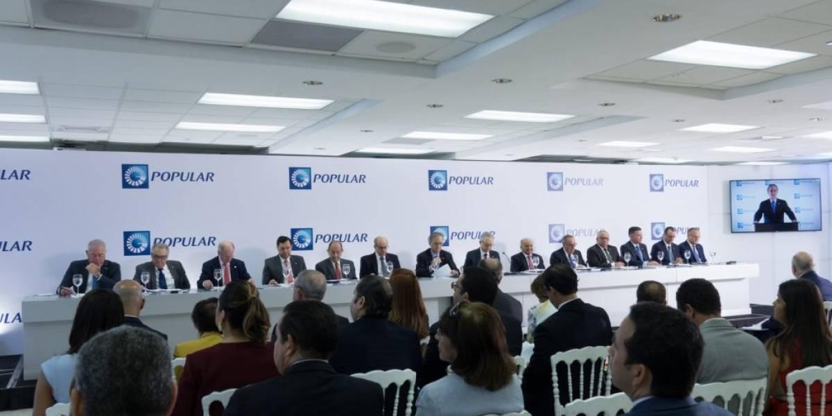 Banco Popular celebra asamblea de accionistas; dice cerró 2017 con importantes logros