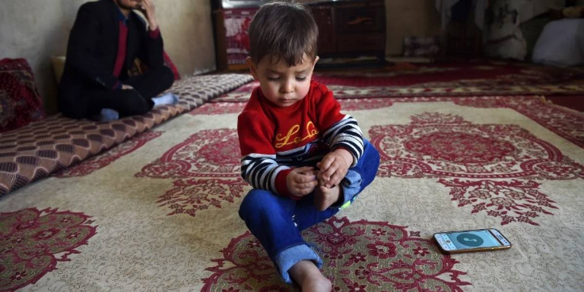 El bebé llamado Donald Trump que desata una polémica en Afganistán