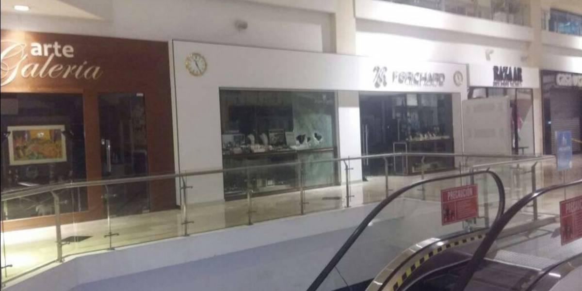 Centro comercial Galerías La Pradera explica cómo ocurrió robo en joyería