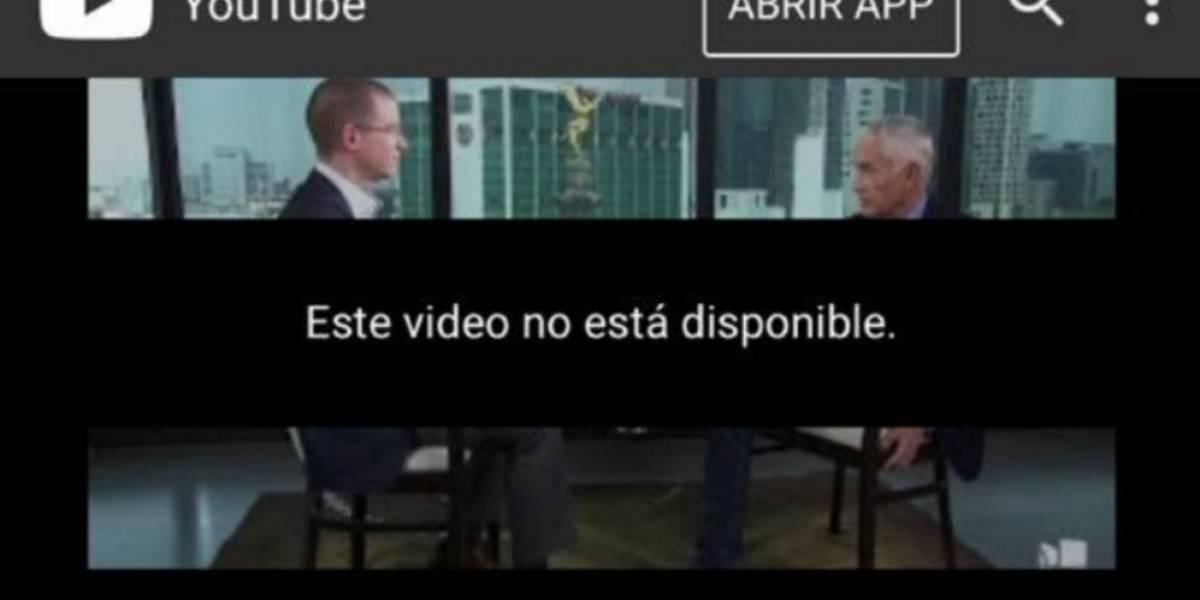 Censuran entrevista donde Anaya dice que investigará a Peña Nieto