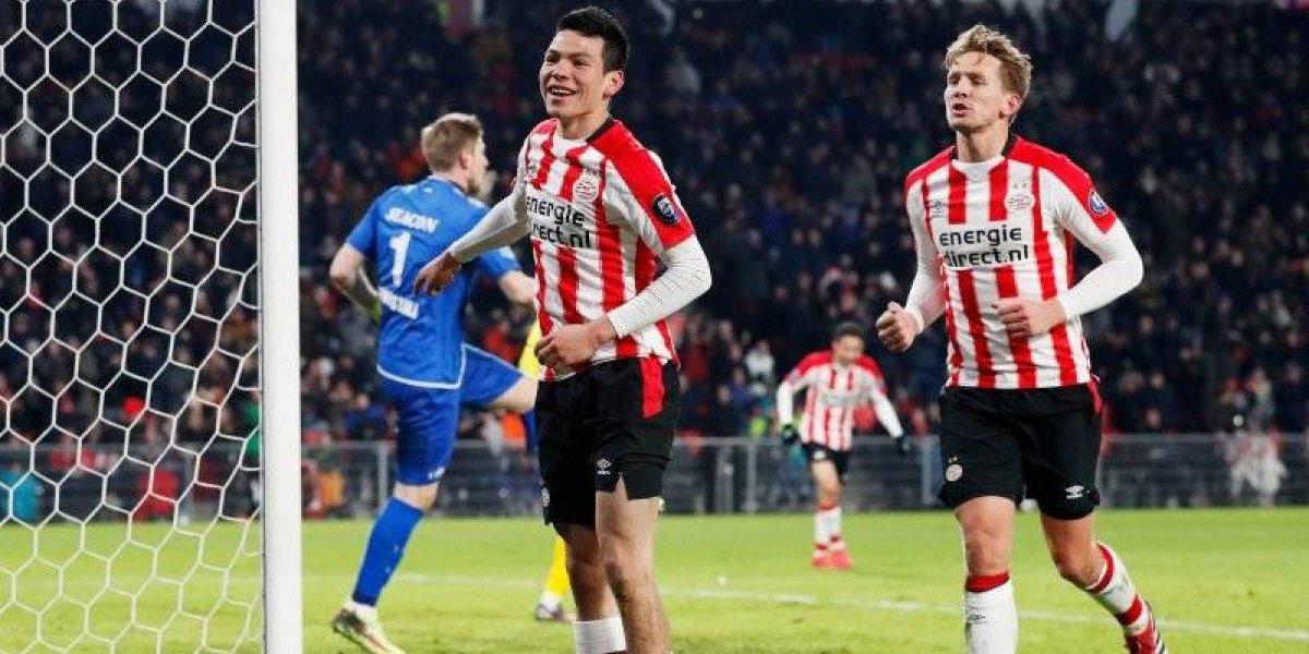'Chucky' Lozano causa terror en su regreso con el PSV Eindhoven
