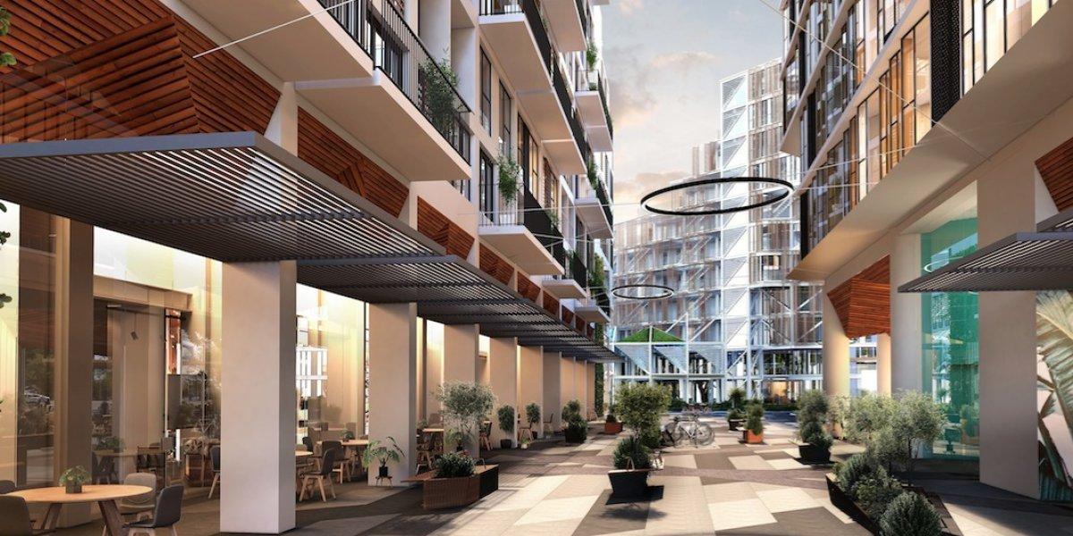 Un nuevo edificio de apartamentos y oficinas abrirá sus puertas en la zona 4