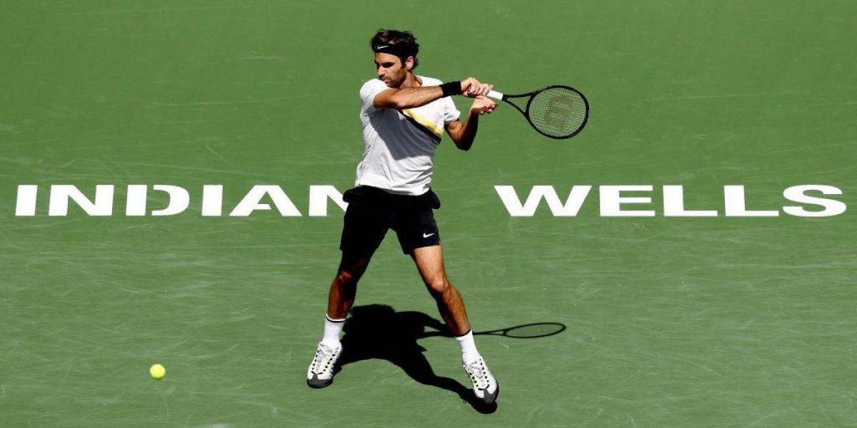 Federer y Del Potro definirán al campeón de Indian Wells