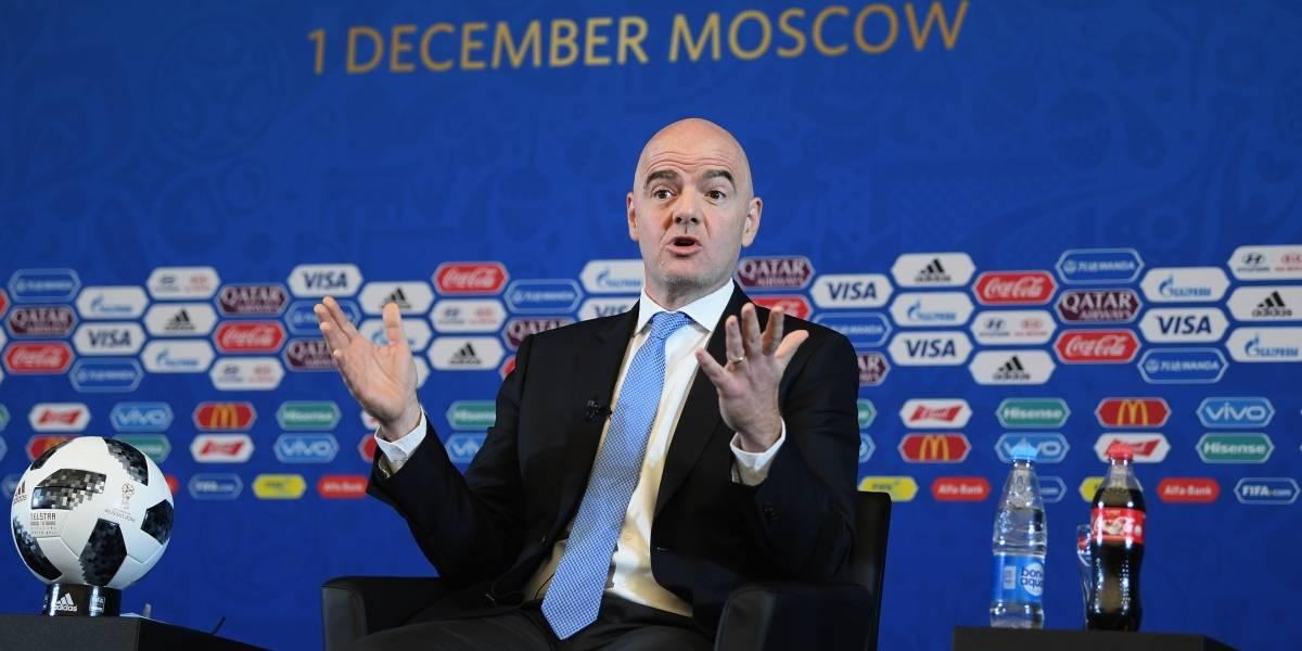 Gianni Infantino argumenta por qué FIFA aceptó usar el VAR