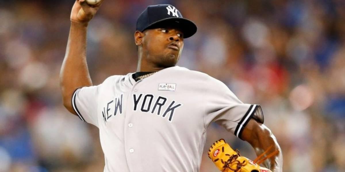 El dominicano Luis Severino abrirá por los Yankees en el Día Inaugural
