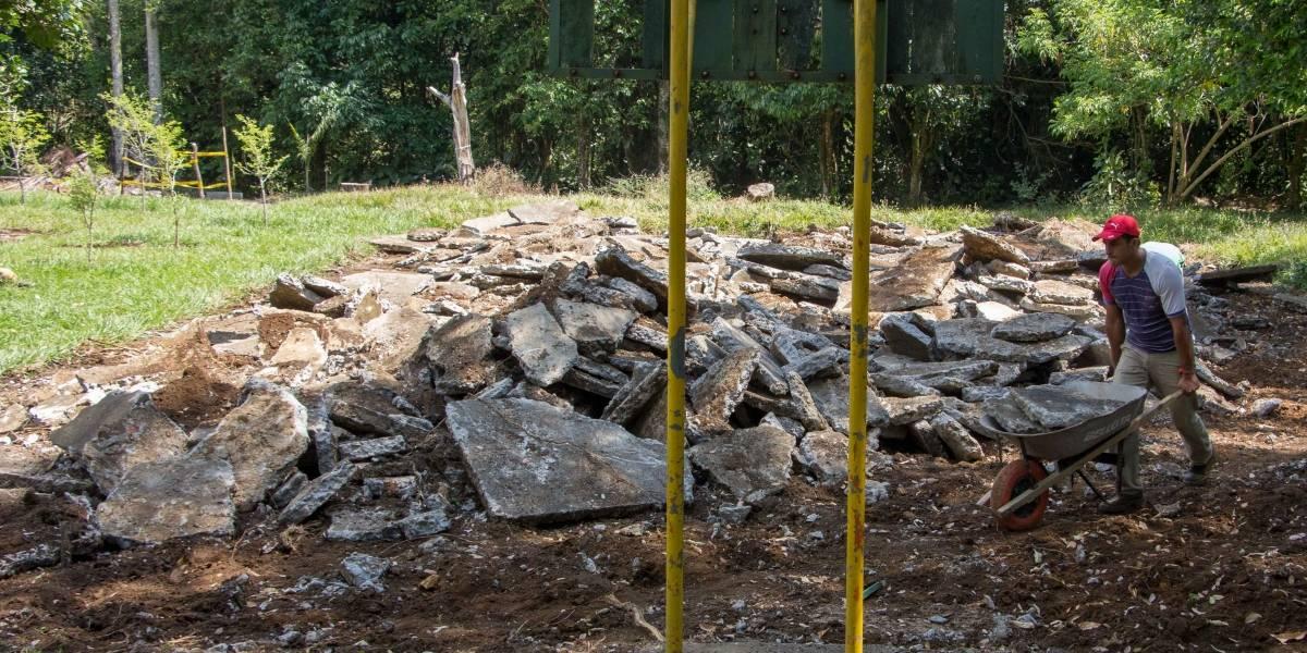 Avanzan obras de remodelación del Ecoparque Río Pance