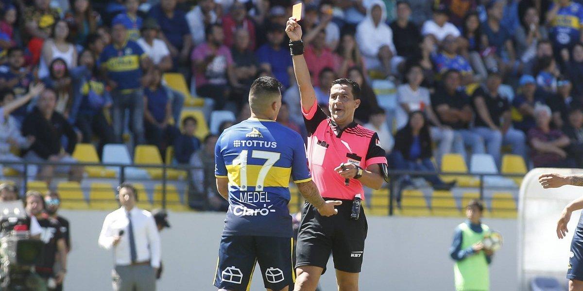 """Pablo Sánchez enfurecido por el arbitraje ante la U: """"La expulsión de Medel es un mamarracho, es absurdamente apurada"""""""