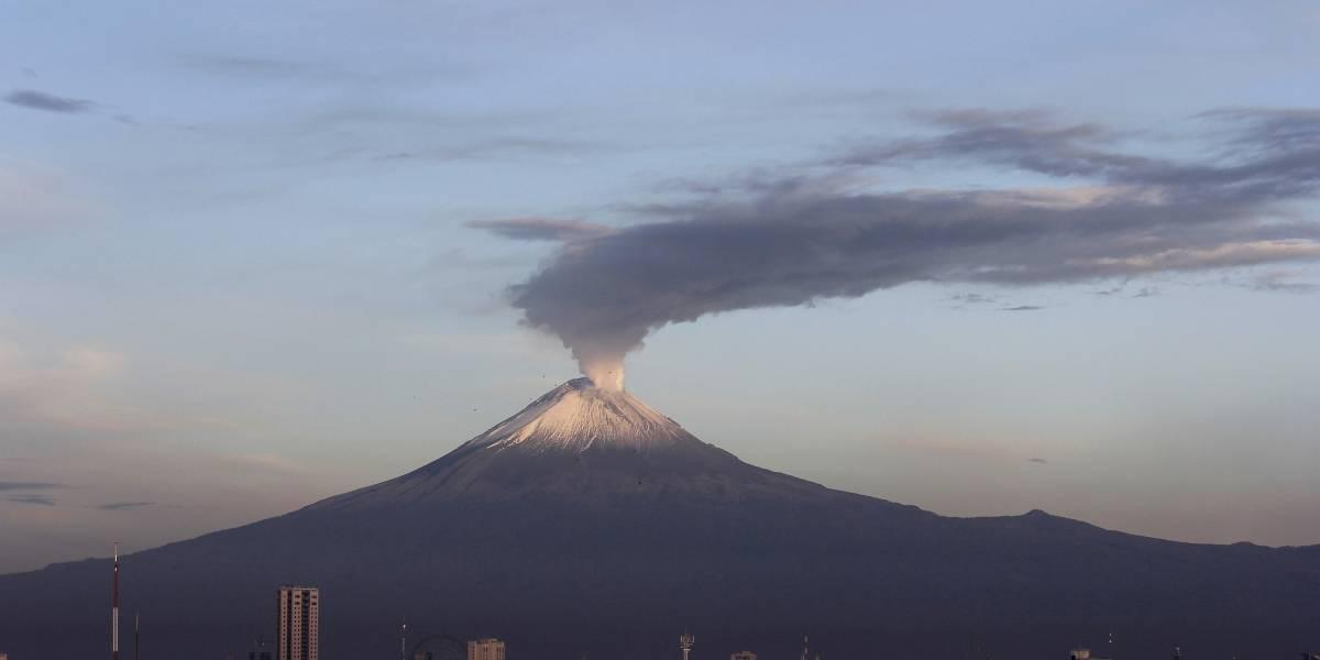 Detectan nuevo domo en cráter interno del Popocatépetl