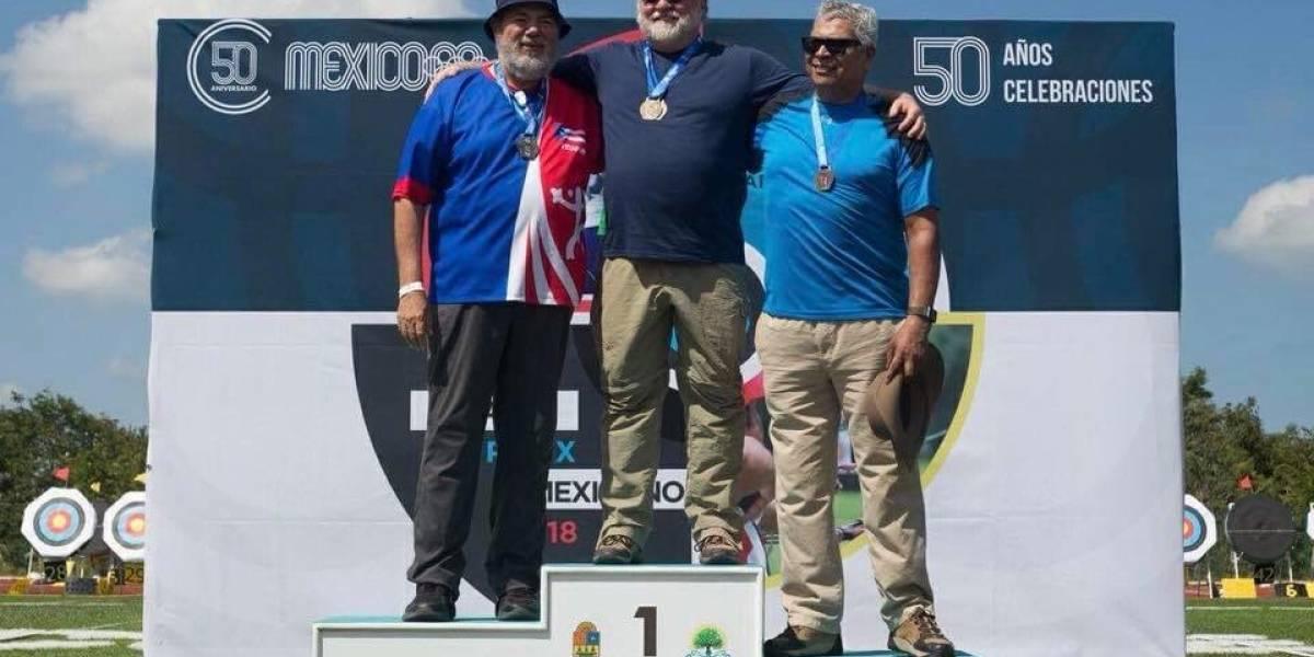 Arqueros boricuas ganan cinco medallas en el Grand Prix de México