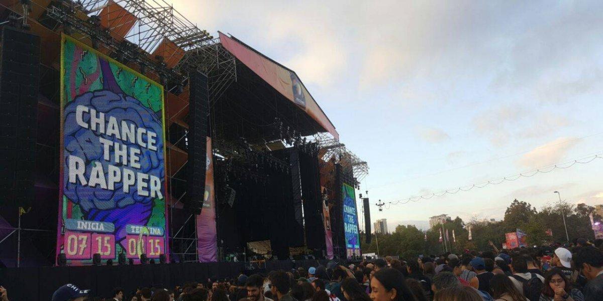 Siguen los retrasos en la segunda jornada de Lollapalooza