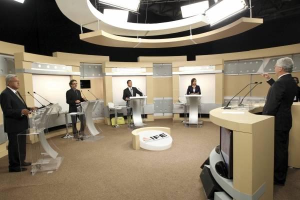 """Advierten """"espectáculo"""" en nuevo formato de debates presidenciales"""