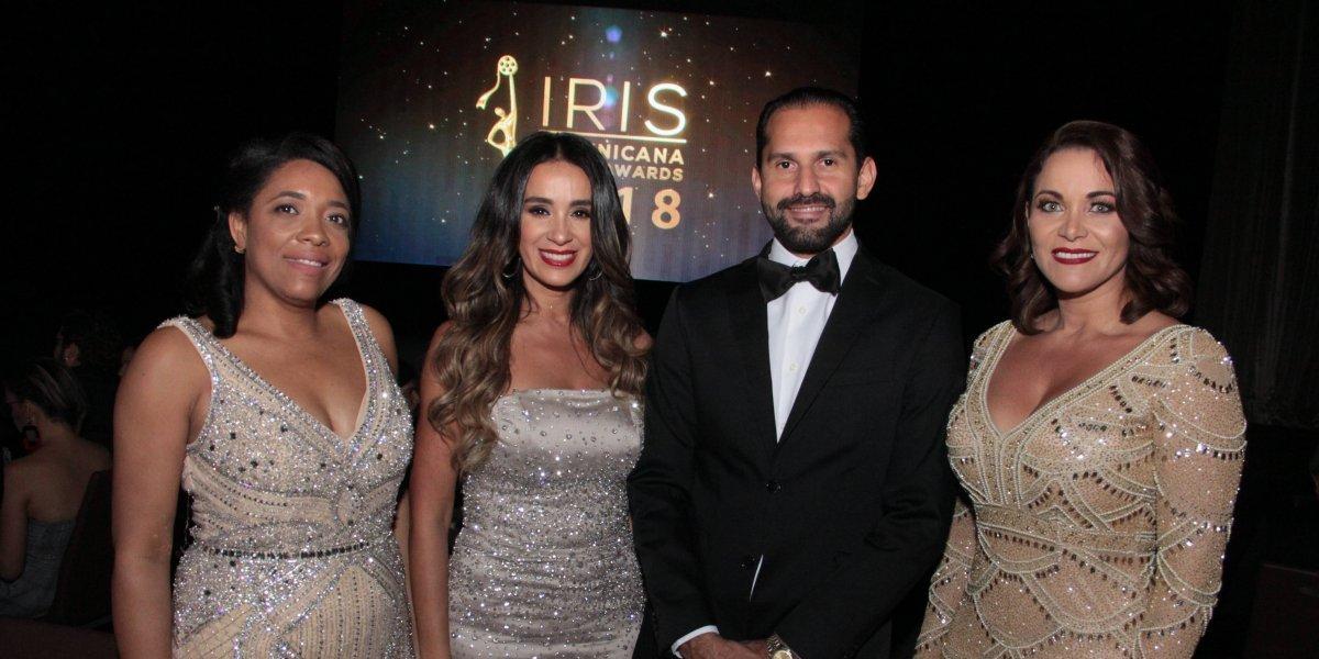 #TeVimosEn: Celebran con éxito tercera entrega de los Premios Iris Dominicana Movie Awards