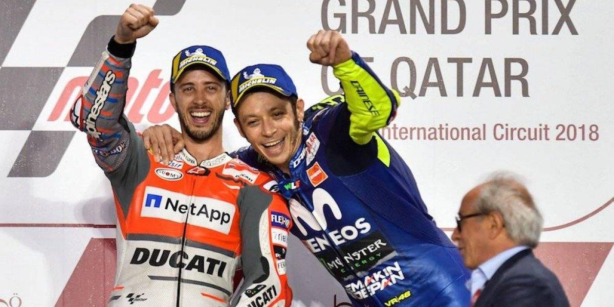 Arranca temporada de Moto GP con triunfo de Dovizioso sobre Márquez