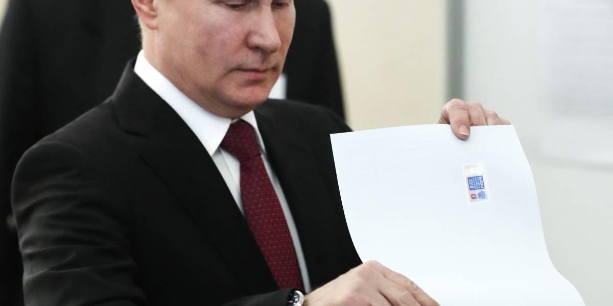 Putin reelegido como presidente de Rusia