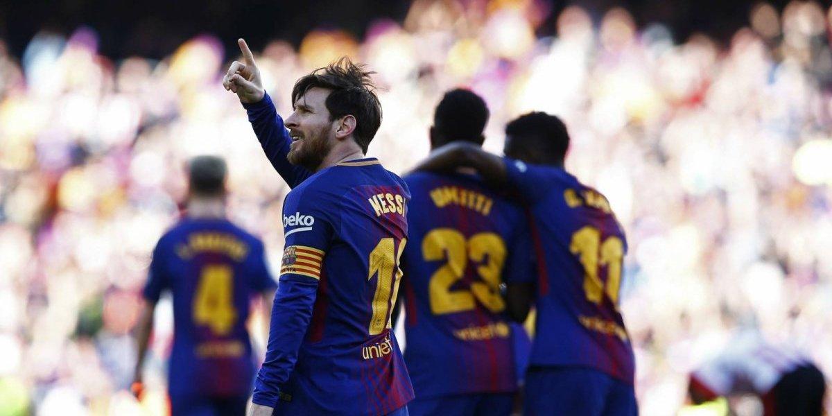 Barcelona gana y recibe ayuda del Villarreal para dejar a tiro La Liga