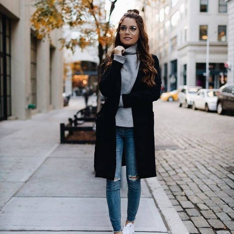 Resultado de imagen para outfits para chicas delgadas invierno