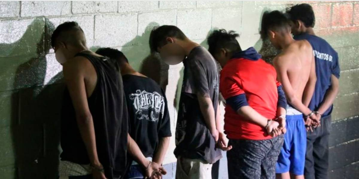 Capturan a 6 señalados de disparar contra agentes de la PNC en San Juan Sacatepéquez