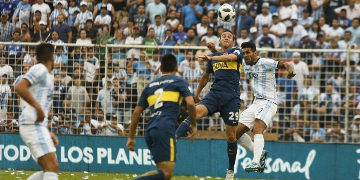 Boca todavía siente el golpe de la Supercopa y sufrió para rescatar un empate ante Atlético Tucumán