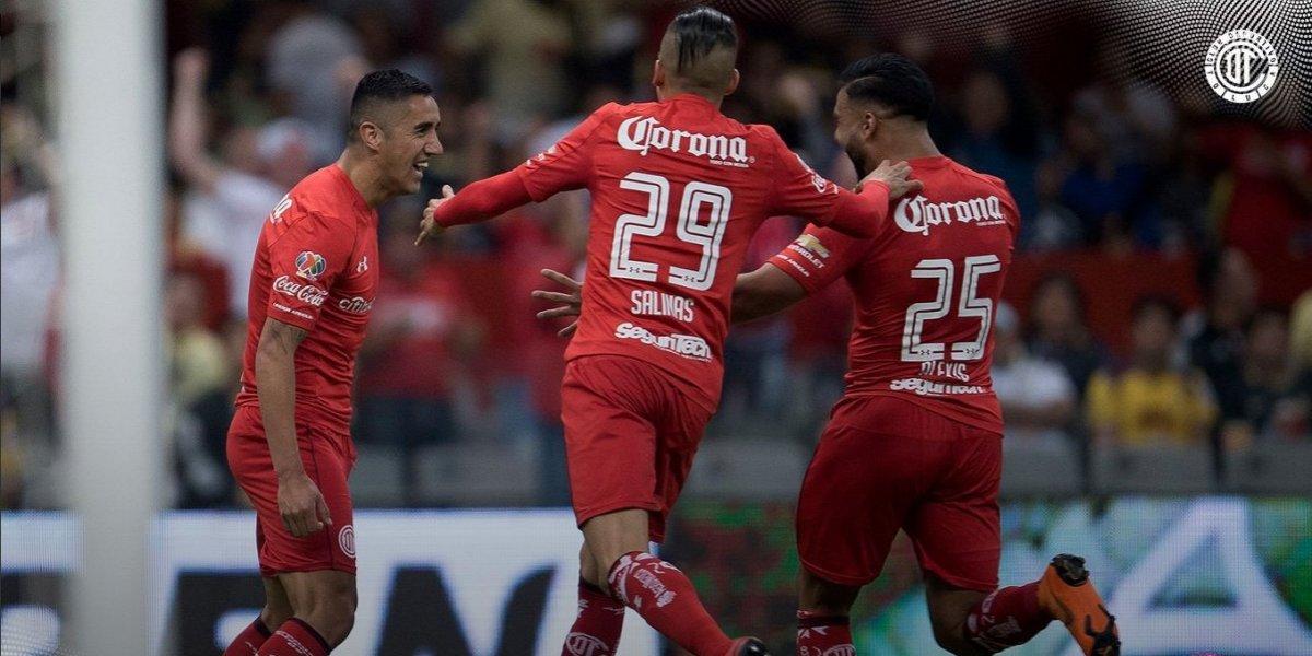 Osvaldo González se viste de delantero para darle el triunfo al Toluca sobre el América