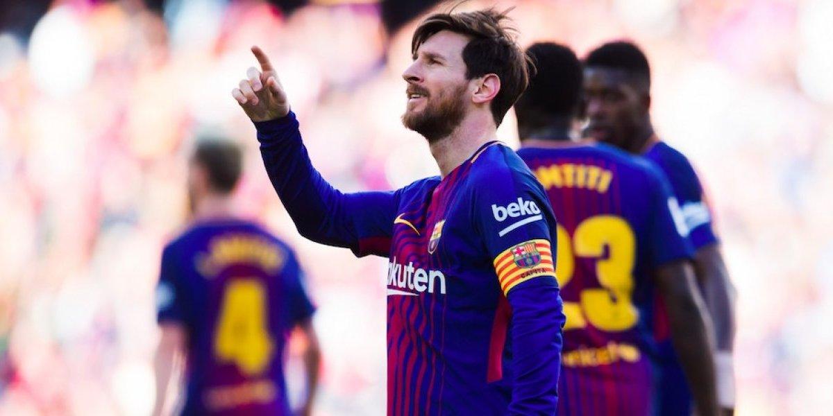 Messi y Barcelona afianzan su liderato al vencer al Athletic