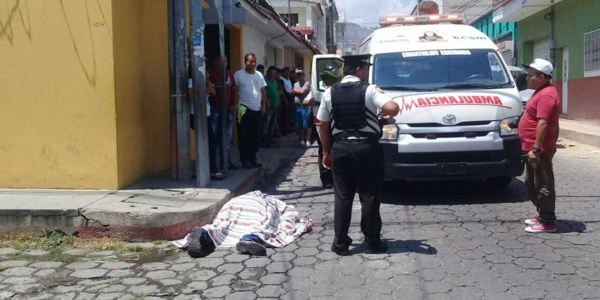 Asesinan a hombre después de haber salido de la iglesia
