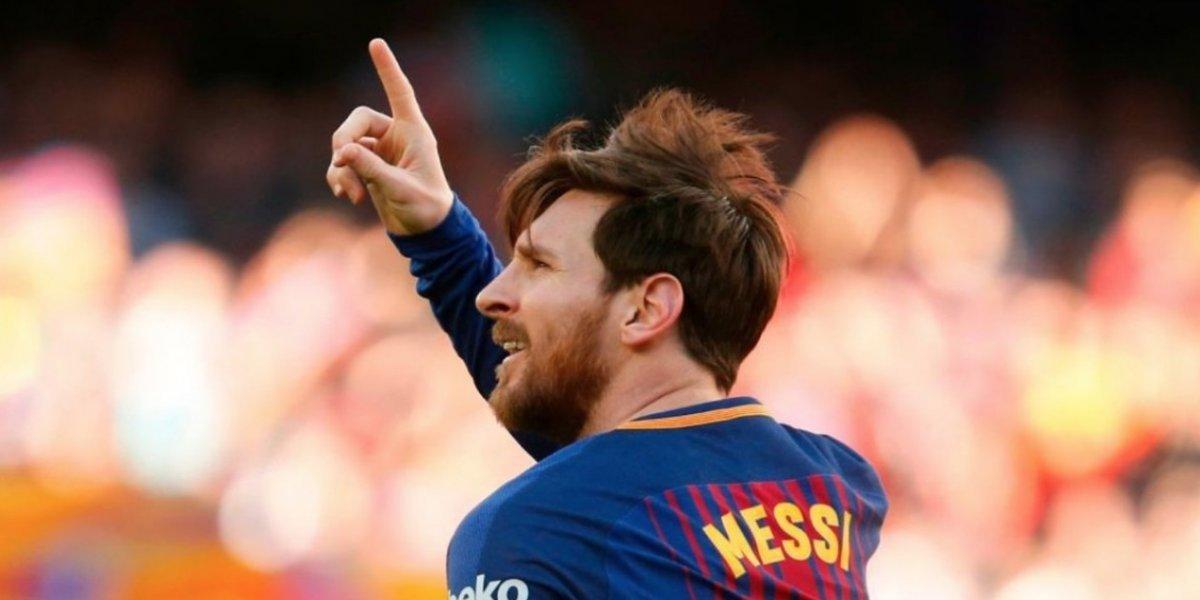 Messi celebra con un peculiar baile sus 500 goles