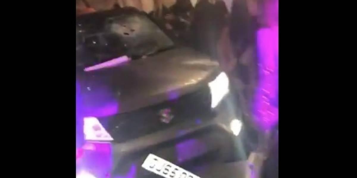 Lo echaron de la disco pero volvió por otra: dejó 13 heridos tras chocar su camioneta contra la puerta