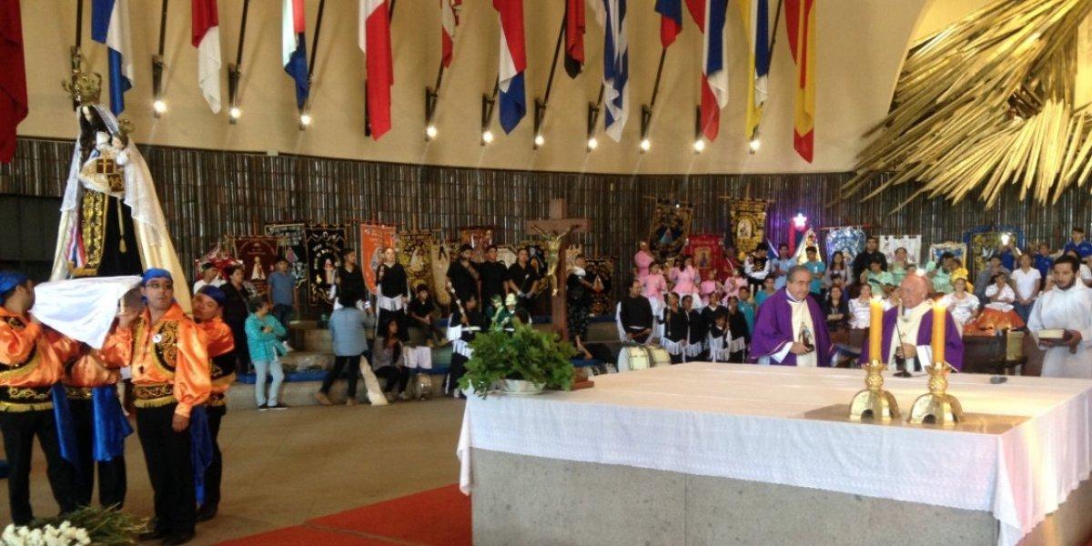 Cardenal Ricardo Ezzati presidió misa de los 200 años de la Promesa de Maipú