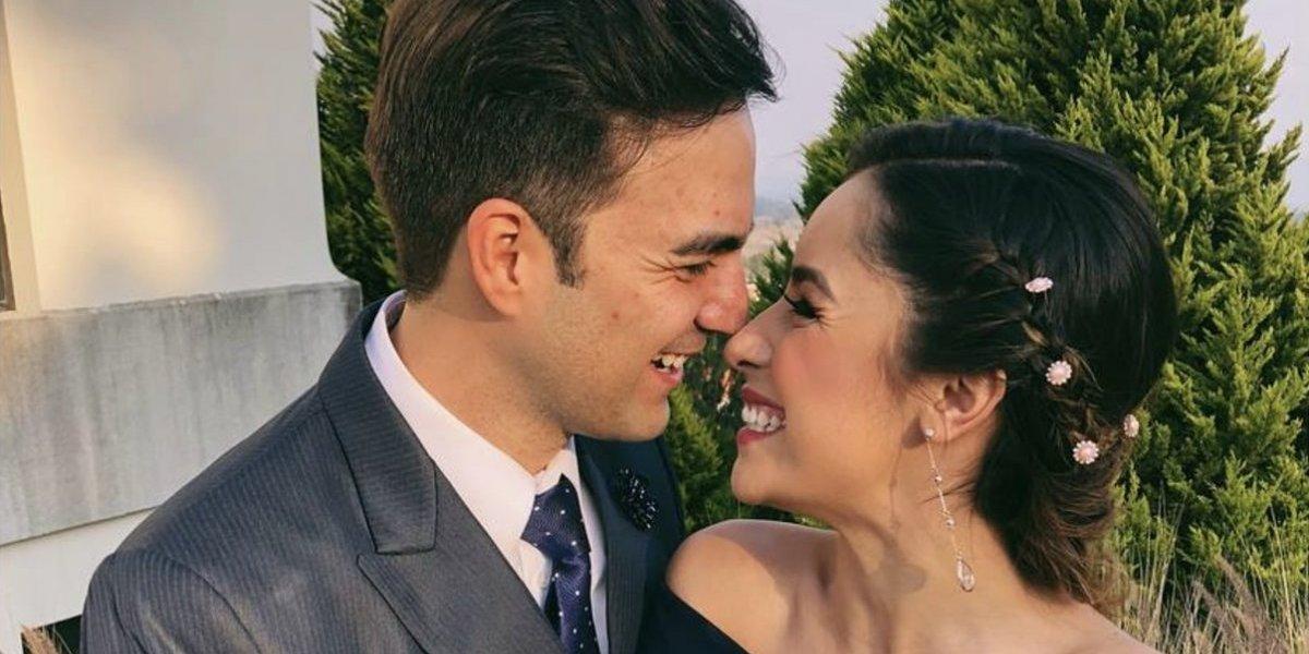 Pamela Paz comparte las primeras fotos oficiales de su boda