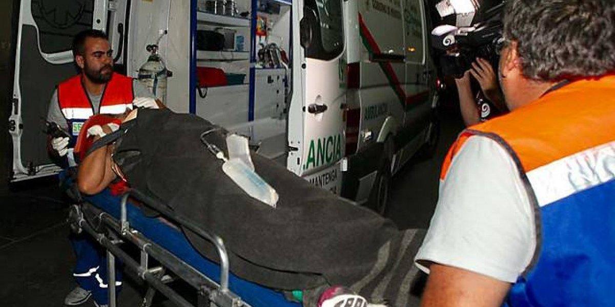 Cuatro muertos dejó un choque entre vehículo Uber y automóvil en Maipú