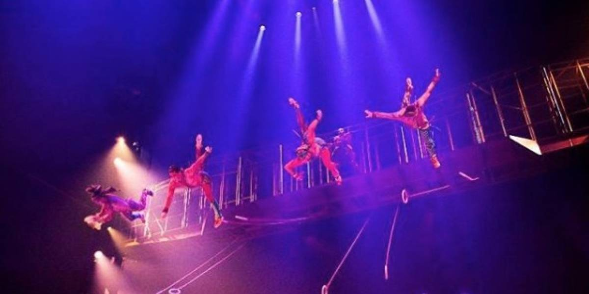 Un acróbata de Cirque du Soleil murió durante show tras fuerte caída