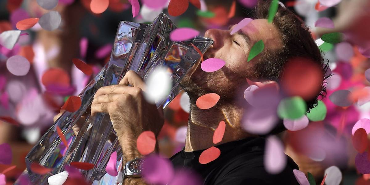 Juan Martín del Potro se corona en Indian Wells a costa de Roger Federer