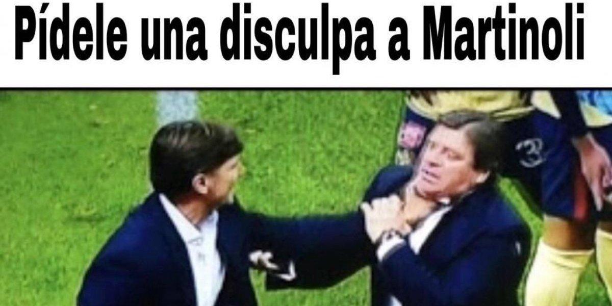 Los mejores memes del pleito entre Hernán Cristante y Miguel Herrera