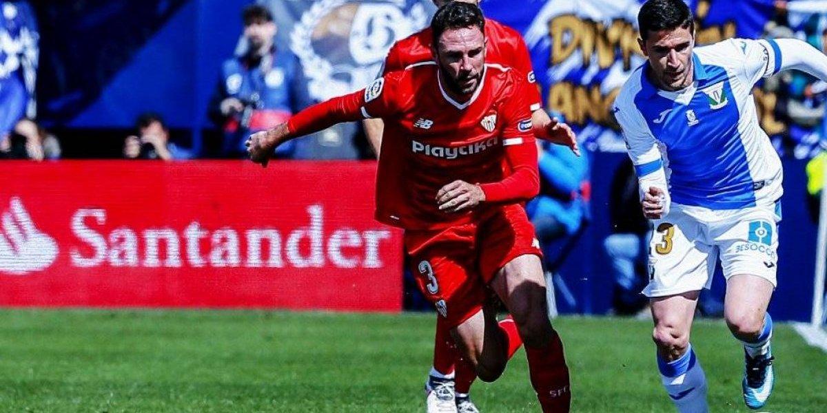 Layún consigue su primer gol como jugador del Sevilla