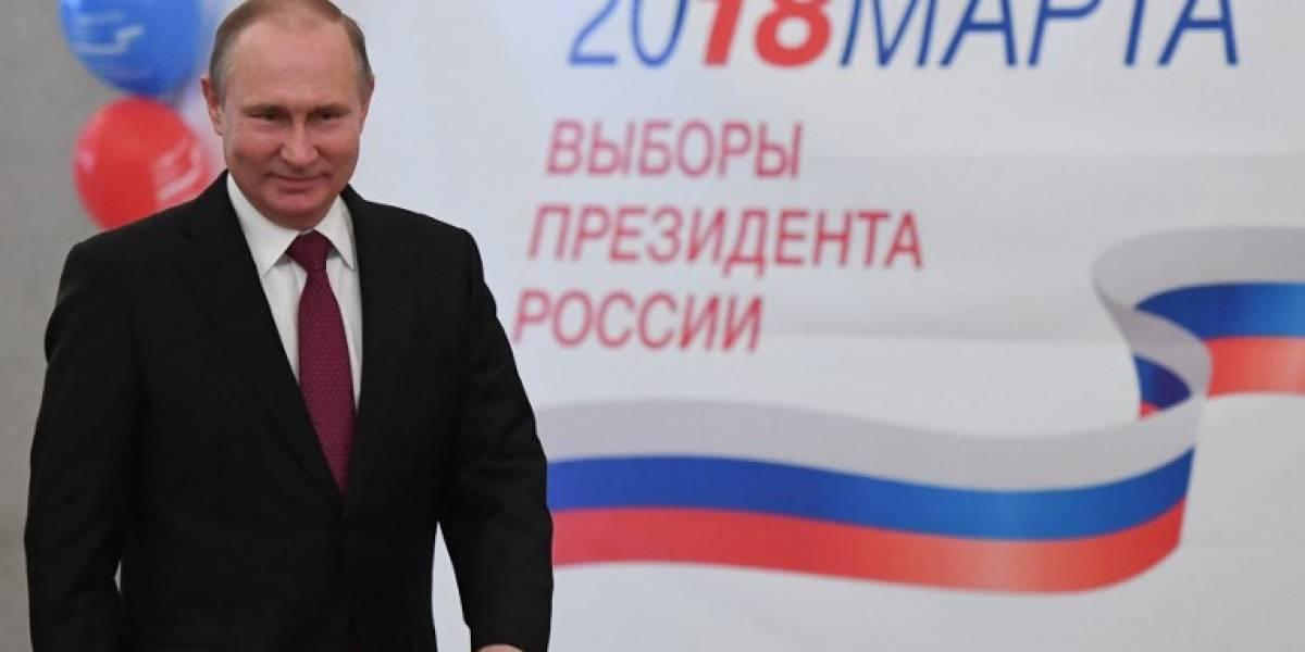En medio de acusaciones de fraude, Putinse encamina a un cuarto mandato