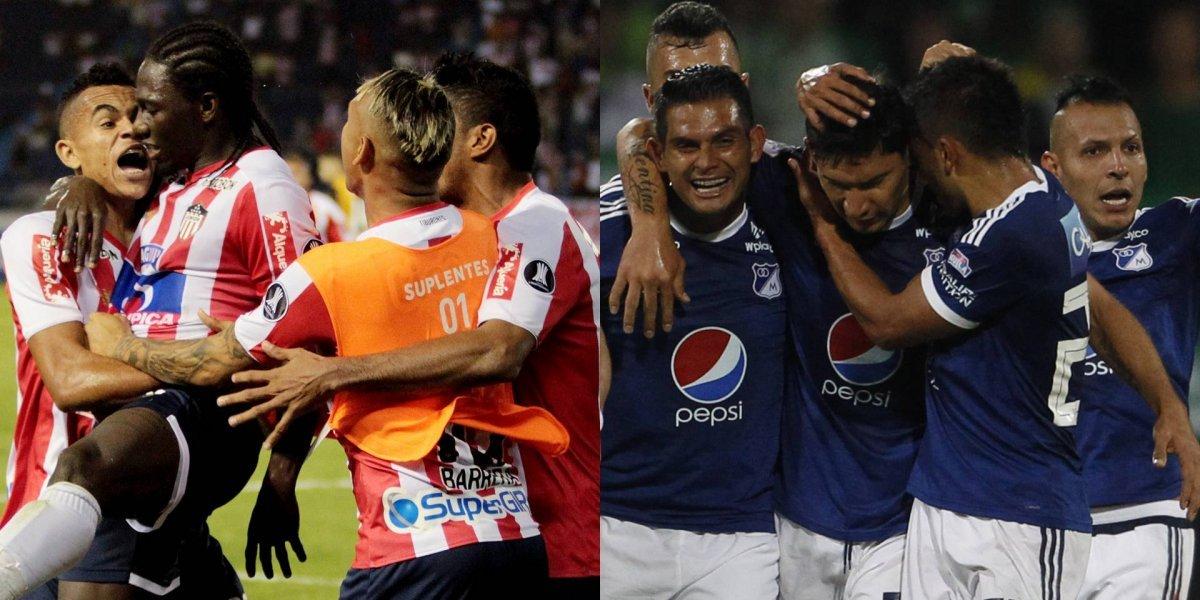 Junior VS Millonarios se roba las miradas en la novena fecha