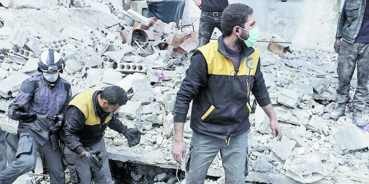 Al menos 35 muertos en ataque en mercado de la capital siria