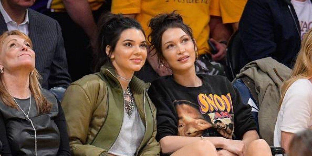 FOTO. Kendall Jenner y Bella Hadid encienden las redes con un atrevido topless