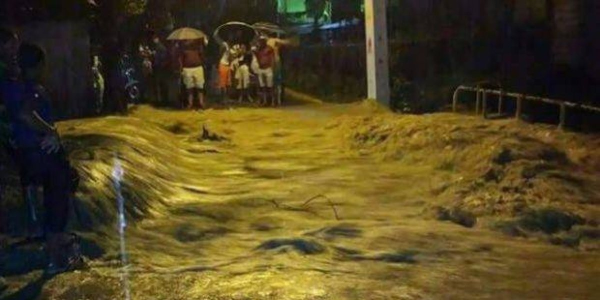 Inundaciones mantienen a Puerto Plata en alerta