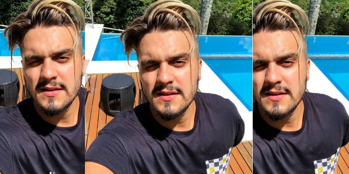 Luan Santana diz que está sofrendo bullying por novo corte de cabelo