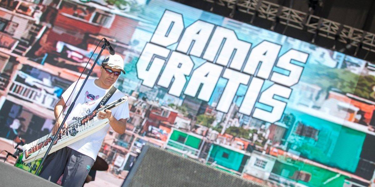 """""""El que no levanta la mano maneja el patrullero"""": Damas Gratis hizo bailar a todos en Lollapalooza"""