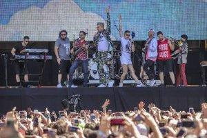 Moral Distraída en Lollapalooza Chile 2018