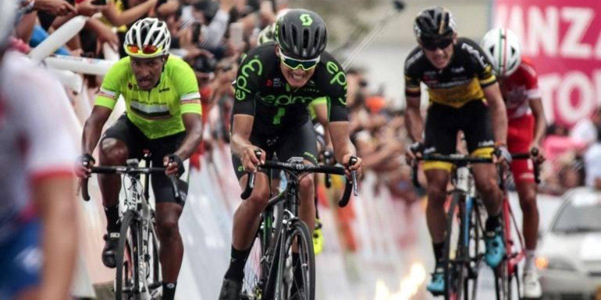 Ciclista español Óscar Sevilla sufre fractura durante asalto en Bogotá