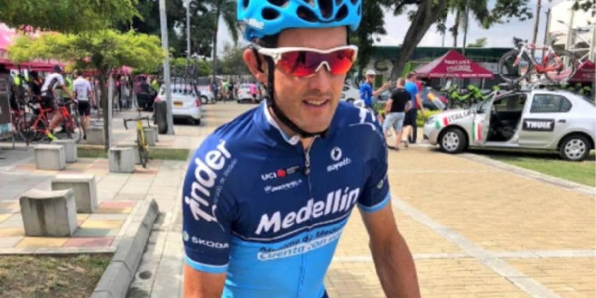Roban al ciclista Óscar Sevilla mientras entrenaba