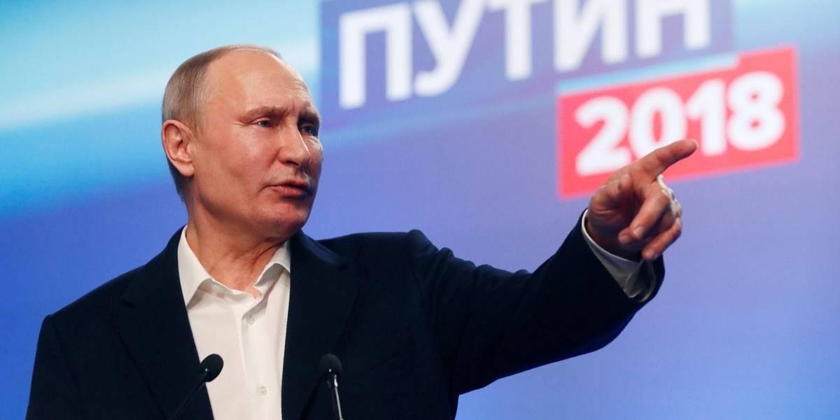 Putin agradece a eleitores por triunfo eleitoral