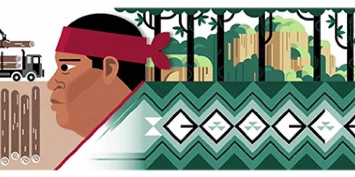 El doodle de hoy recuerda a Isidro Baldenegro