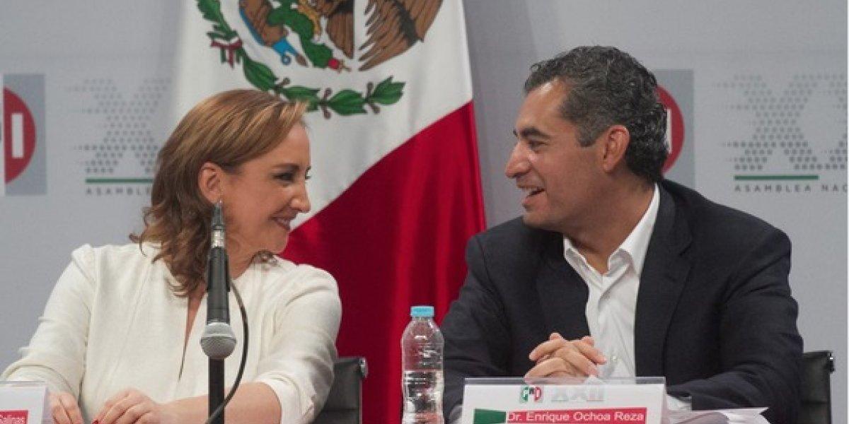 Ochoa Reza y Ruiz Massieu encabezan lista de plurinominales del PRI