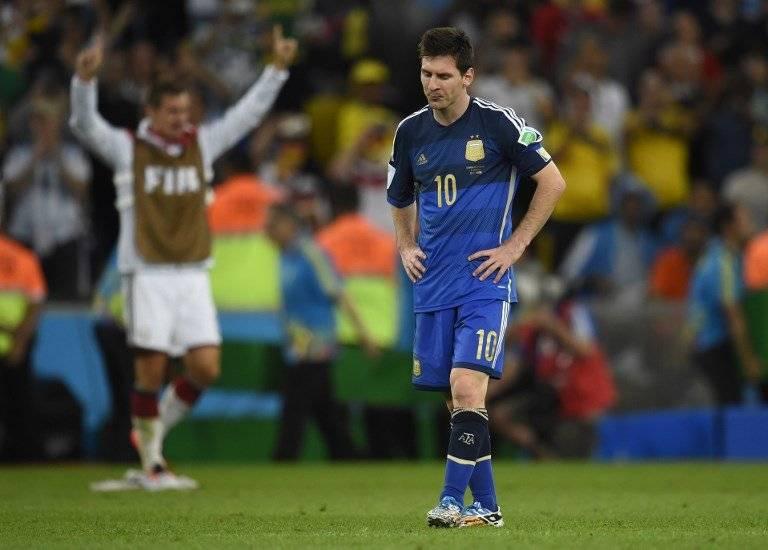 Messi se incorpora a la concentración de Argentina