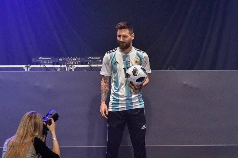 Argentina se completó con la llegada de Lionel Messi