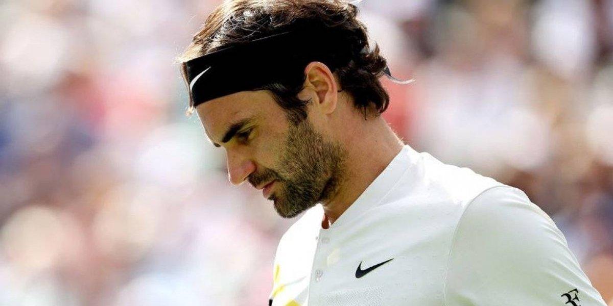 Guardia de seguridad impide a Roger Federer entrara a su camerino sin carnet